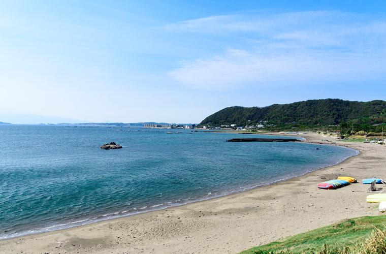 長者ヶ崎・大浜海水浴場