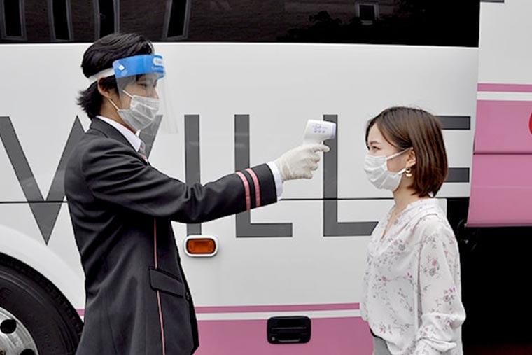 WILLER EXPRESS 衛生管理について乗客へも協力を呼び掛ける