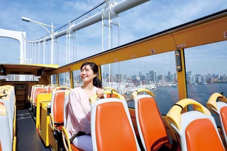 はとバス 2階建てオープンバス「'O Sola mio(オー・ソラ・ミオ)」