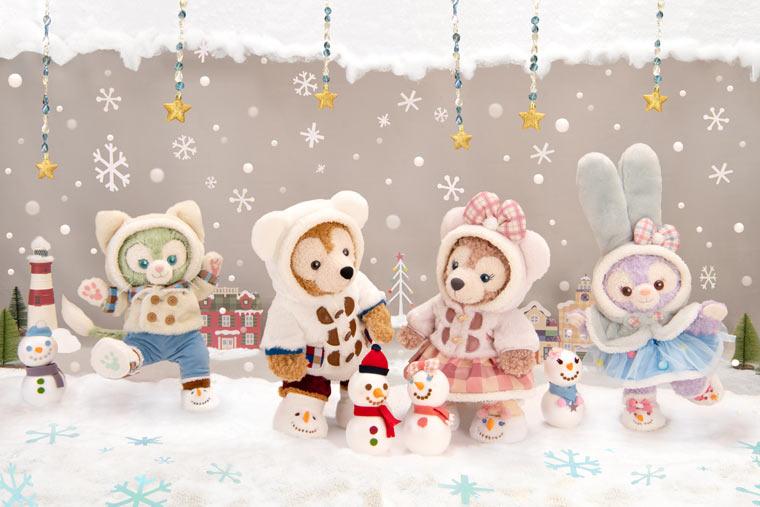 ダッフィー・クリスマス コスチュームセット
