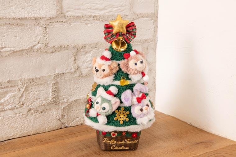 ダッフィー・クリスマス ぬいぐるみ(クリスマスツリー)