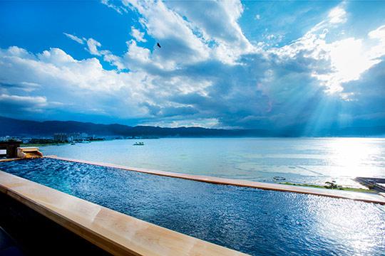 寛ぎの諏訪の湯宿 萃sui‐諏訪湖