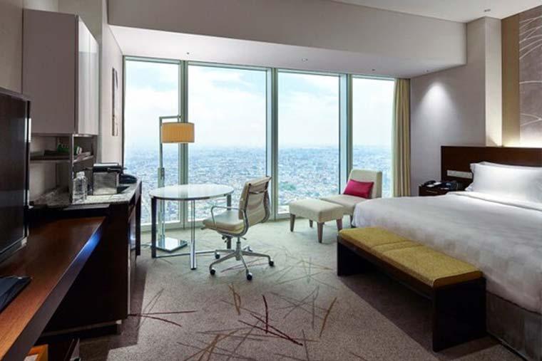 大阪マリオット都ホテル 客室例