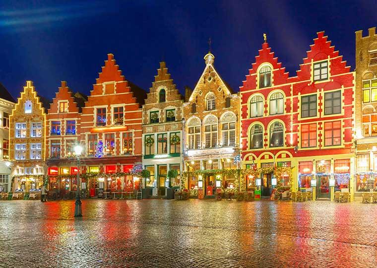 ハウステンボス 光の王国 光の街のクリスマス