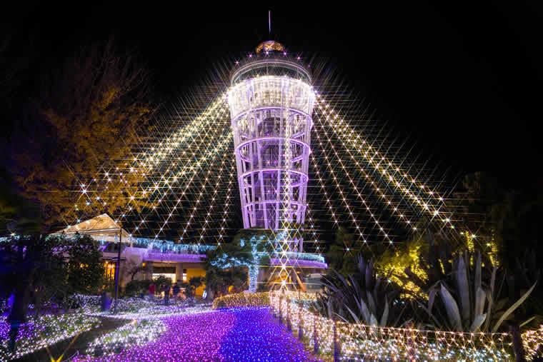 湘南の宝石2017-2018 ~江の島を彩る光と色の祭典~