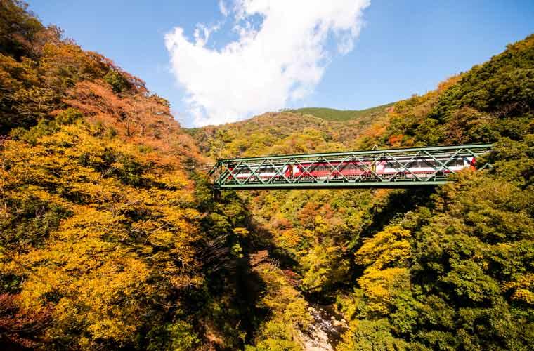 早川橋梁(出山の鉄橋)