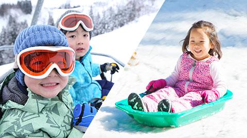 子供のスキーデビューにおすすめ!家族で楽しむスキー場22選
