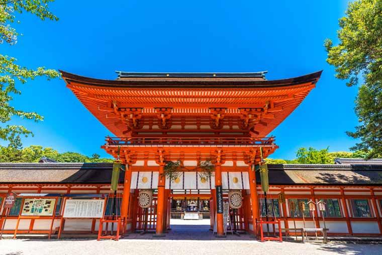 賀茂御祖神社(かもみおやじんじゃ)