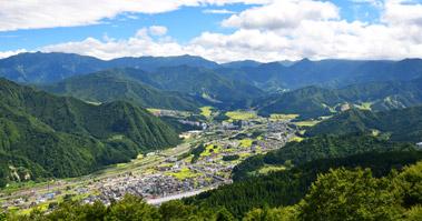 湯沢高原からの眺め
