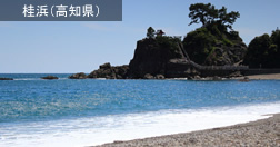 桂浜(高知県)