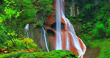 嫗仙の滝(おうせんのたき)
