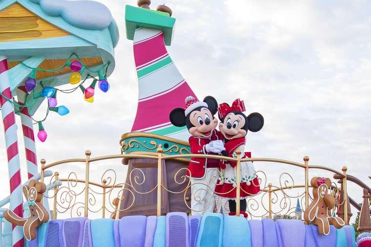 東京ディズニーランド ショー ディズニー・クリスマス・ストーリーズ