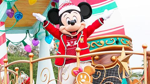 東京ディズニーランドの「ディズニー・クリスマス・ストーリーズ」ショー見どころ紹介