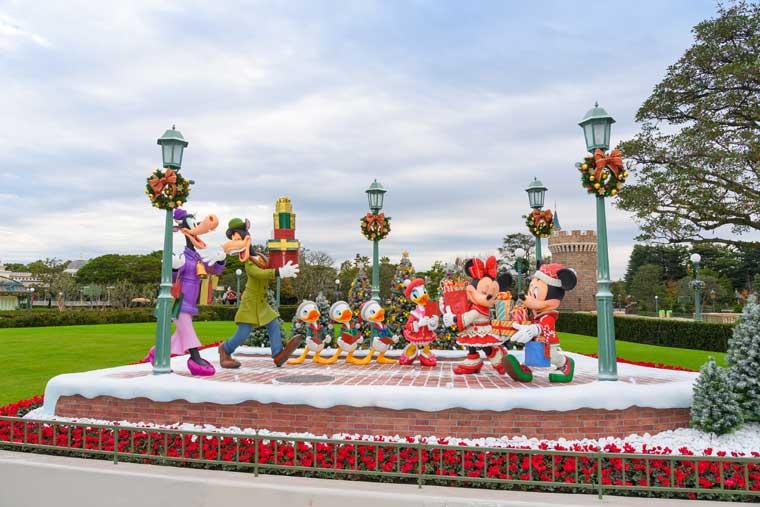 東京ディズニーランド クリスマスデコレーション