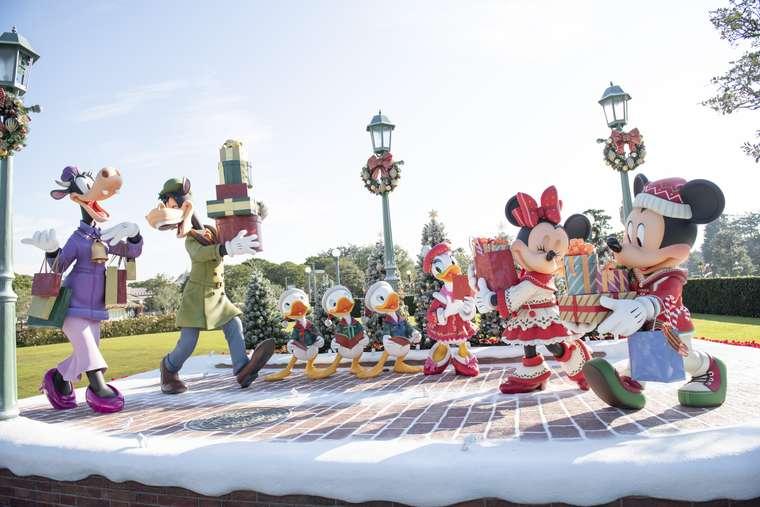東京ディズニーランド ディズニークリスマス フォトジェニックスポット
