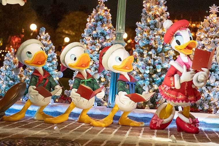 東京ディズニーランド ディズニークリスマス ミッキー