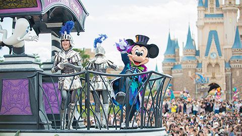 """東京ディズニーランドのハロウィーン「スプーキー""""Boo!""""パレード」を徹底取材"""