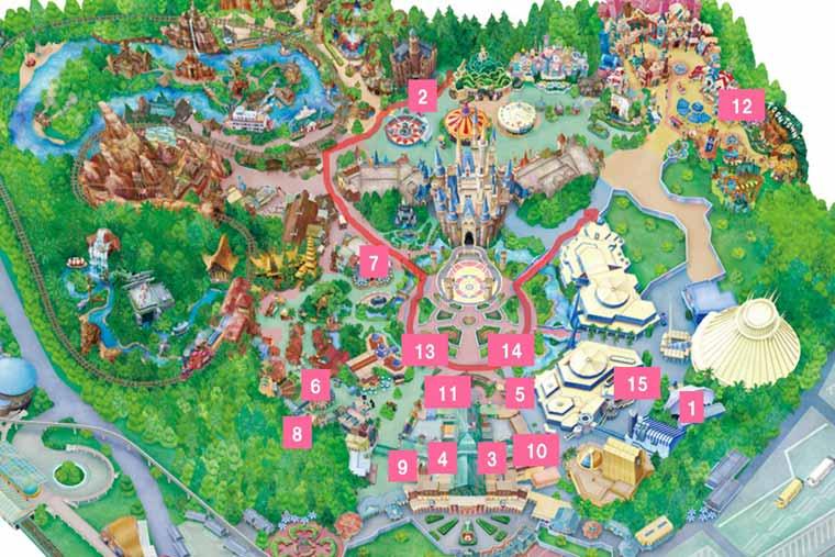 「ベリー・ベリー・ミニー!」MAP