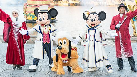 東京ディズニーシーのショー「イッツ・クリスマスタイム!」など徹底取材