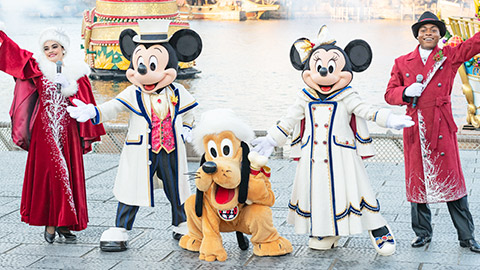 東京ディズニーシーのショー「イッツ・クリスマスタイム!」など徹底取材