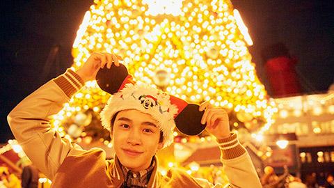 鈴木康介さんと行く!東京ディズニーシーのクリスマスデートおすすめプラン