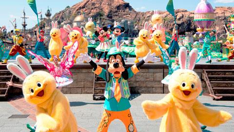 ダッフィーも!うさピヨも!春の東京ディズニーシーを彩る「ディズニー・イースター」