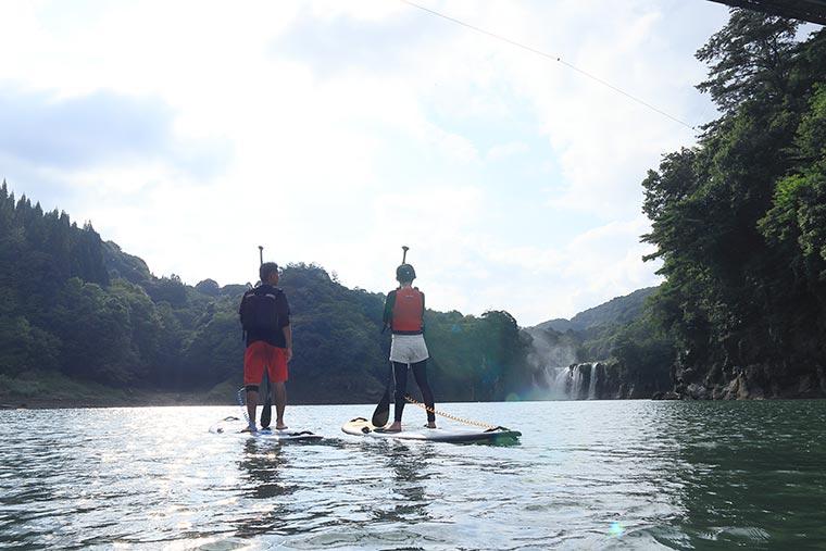 小野湖SUP体験