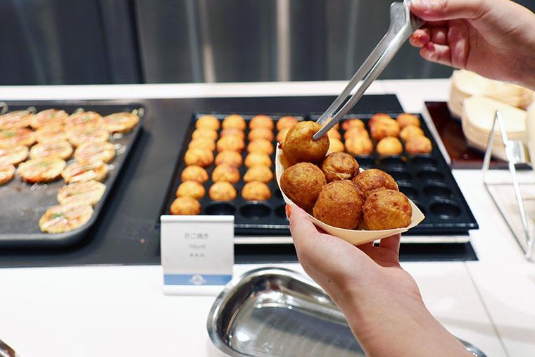 大阪・関西のテッパン名物料理 たこ焼き