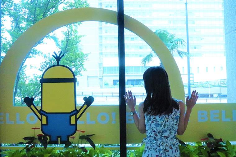 大阪 ホテル ユニバーサル ポート ヴィータとミニオン