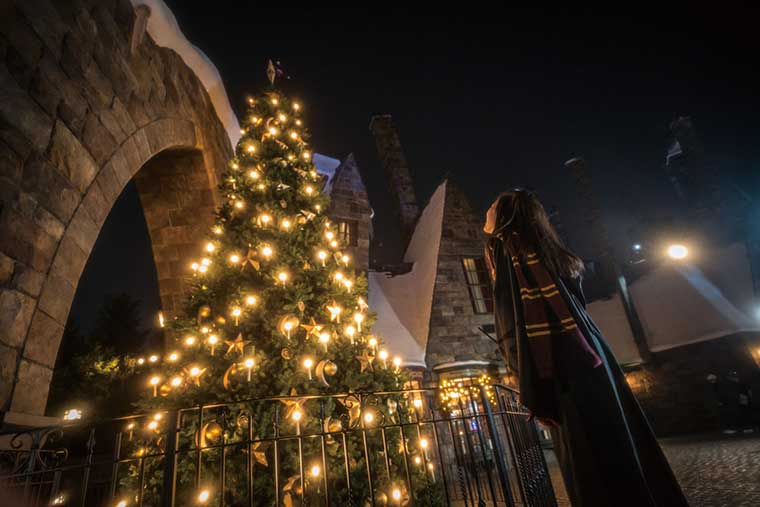 ホグズミード村のクリスマス・ツリー