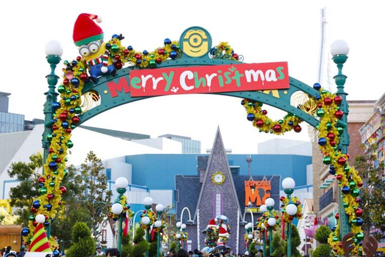 ユニバーサル・スタジオ・ジャパン「ミニオン・パークのイエロー・クリスマス」