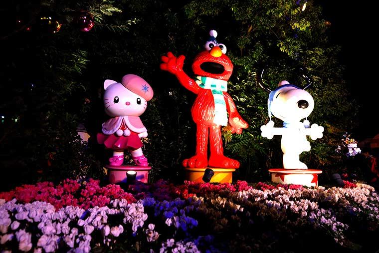 ユニバーサル・スタジオ・ジャパン「ユニバーサル・クリスタル・クリスマス」