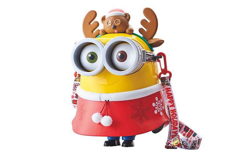 USJクリスマス2019 ミニオン ポップコーンバケツ