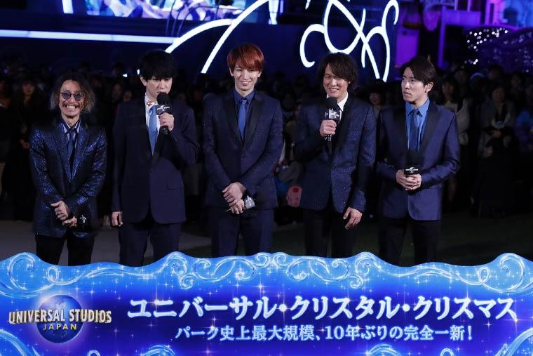 USJクリスマス2019 アンバサダー「関ジャニ∞」