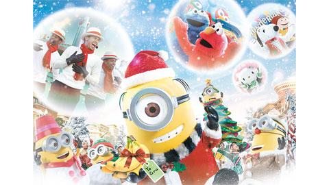ユニバーサル・スタジオ・ジャパンの2020年クリスマスイベント、11月13日スタート!