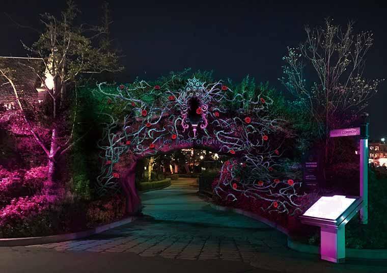 USJ「大人ハロウィーン・エリア ~呪われた薔薇園~」