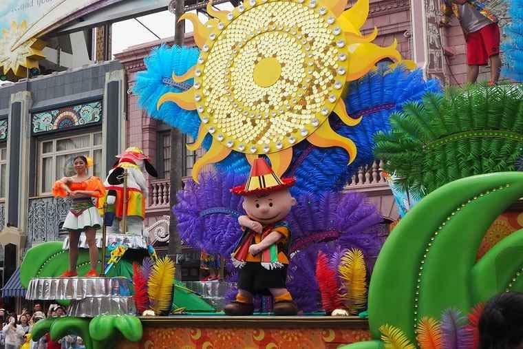 USJ「ウォーター・サプライズ・パレード」