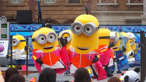 ユニバーサル・スタジオ・ジャパンの2019年夏イベントが最高に楽しい! ビショ濡れパーティーをレポート!