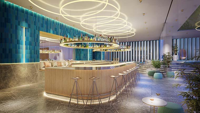 Wホテル大阪 bar