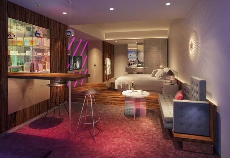 Wホテル大阪 客室