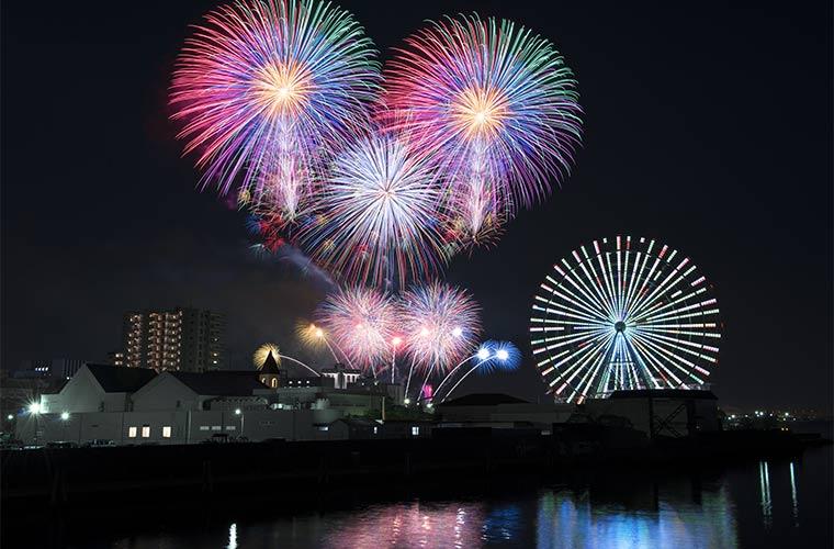 ISOGAI花火劇場in名古屋港 ~次世代を担う子供たちに美しい花火を~