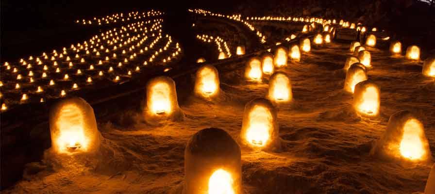 湯西川溫泉 雪屋祭