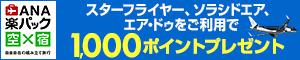 ANAパートナー航空会社ご利用で2,000プレゼントキャンペーン