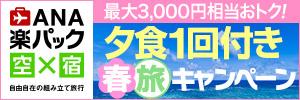 沖縄旅行・ツアー(航空券+ホテル)【楽天トラベル】 ANA楽パック春旅キャンペーン!