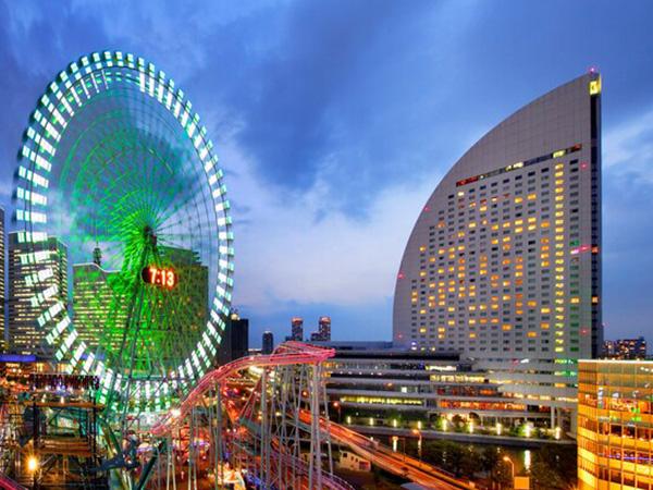 5旅行・ツアー(航空券+ホテル)【楽天トラベル】 ヨコハマ グランド インターコンチネンタル ホテル