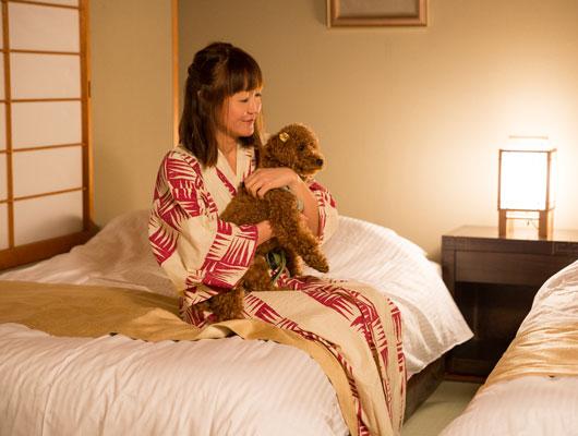 愛犬と過ごす本格旅館 月香