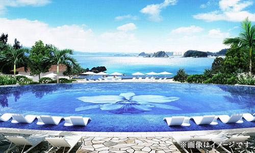 リゾート内には、タイプの異なる5つのプールを配置