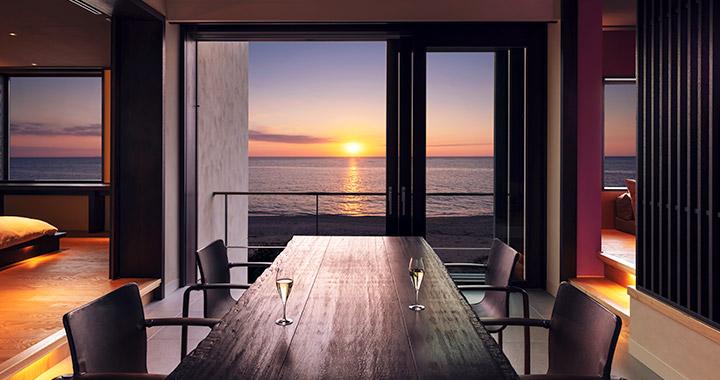 海を眺めて暮らすように滞在する