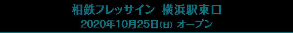 相鉄フレッサイン 横浜駅東口(2020年10月25日オープン)