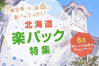 航空券+宿!北海道楽パック特集